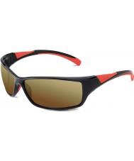 Bolle Bolle velocidad brillante rojo negro 100 gafas de sol de armas