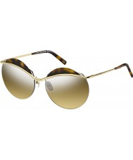 Marc Jacobs Damas marc 102-s J5G gafas de sol de espejo de plata de oro gg