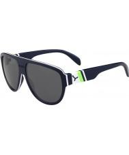 Cebe Miami oscuro azul verde 1500 gafas de sol de espejo gris de flash