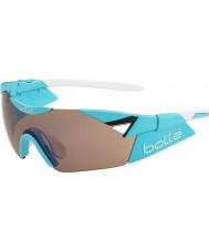 Bolle 6 ° sentido s brillante modulador rosa azul gafas de sol del arma