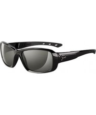 Cebe S-beso gafas de sol negros brillantes