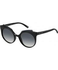 Marc Jacobs Damas marc 105-s d28 9o gafas de sol negros brillantes
