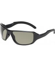 Bolle Inteligentes brillantes negros polarizados gafas de sol tns