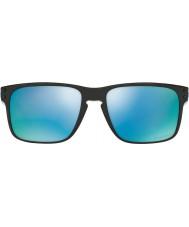 Oakley Oo9102-c1 Holbrook pulido negro - profunda h2o gafas de sol polarizadas prizm