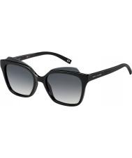 Marc Jacobs Damas marc 106-s d28 9o gafas de sol negros brillantes