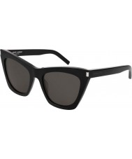Saint Laurent Ladies sl 214 kate 001 55 gafas de sol