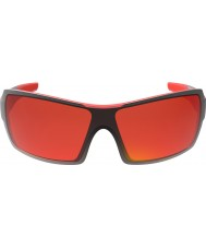 Bolle Diamondback brillantes gafas de sol de fuego rojo negro tns