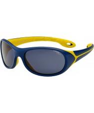 Cebe Simba (edad 5-7) noche gafas de sol amarillas azules