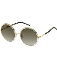 Marc Jacobs Damas marc 11-s gafas de sol oscuras Habana apq ja oro