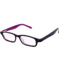 Eyejusters P1C1504PP rosa púrpura gafas de lectura ajustables - 0,00 a 3,00 fortaleza