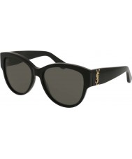 Saint Laurent Gafas de sol Ladies sl m3 002 55