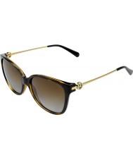 Michael Kors Mk6006 57 gafas de sol de Marrakech 3006t5 carey oscuros polarizados