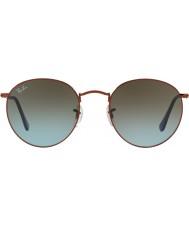 RayBan RB3447 53 redondo de metal brillante bronce oscuro 900396 gafas de sol