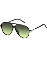 Marc Jacobs Marc 44-s ib d28 gafas de sol negros brillantes