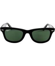 RayBan Rb2140 original wayfarer negro - verde polarizado