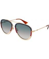 Gucci Señoras gg0062s 013 57 gafas de sol