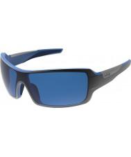Bolle Diamondback negro brillante azul polarizado gb-10 gafas de sol