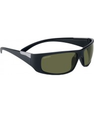 Serengeti Fasano brillante satén negro gafas de sol polarizadas phd 555nm