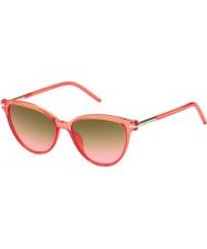Marc Jacobs Damas marc 47-s de las gafas de sol tot fx coral