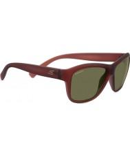 Serengeti Gabriella de vino de cristal arenado gafas de sol polarizadas 555nm