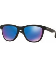 Oakley Oo9320-11 moonlighter negro mate - zafiro iridio gafas de sol polarizadas