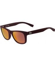 Lacoste gafas de sol de color burdeos mate L790s
