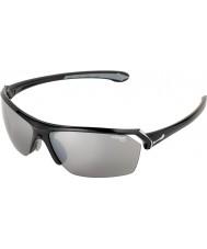Cebe gafas de sol negras brillantes salvajes