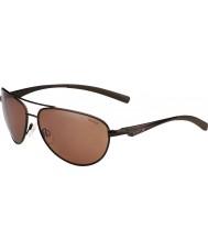 Bolle gafas de sol polarizadas de armas de piedra arenisca de color marrón mate Columbus