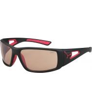 Cebe gafas de sol Perfo variochrom rojo negro mate Sesión