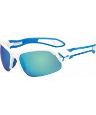 Cebe Cbspring3 s-pring blanco azul gafas de sol