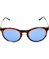 Polo Ralph Lauren Ph4096 50 estilo clásico de rayas Habana 500772 gafas de sol