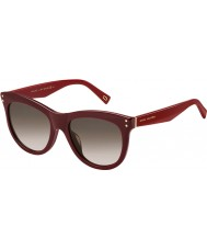 Marc Jacobs Damas marc 118-s de las gafas de sol de color burdeos ope K8