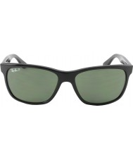 RayBan Rb4181 57 highstreet 601-9a negro gafas de sol polarizadas