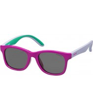 Polaroid Niños pld8001-s t37 y2 fucsia gafas de sol polarizadas lila