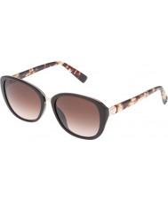 Furla Señoras de la universidad su4905r-0d84 brillantes gafas de sol oscuras llenas