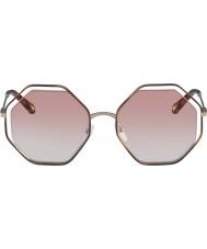 Chloe Damas ce132s 211 58 gafas de sol de amapola