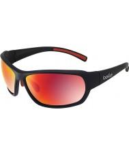 Bolle gafas de sol de fuego negro mate tns polarizada Bounty