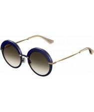 Jimmy Choo Señoras Gotha-s 3ue js gafas de sol de oro azul