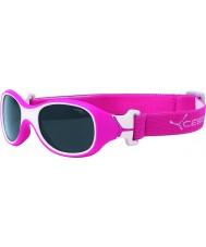 Cebe Chouka (edad 1-3) gafas de sol de frambuesa