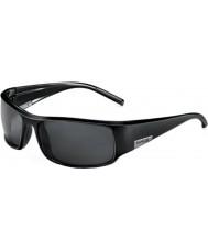 Bolle Rey negro brillante polarizado gafas de sol tns