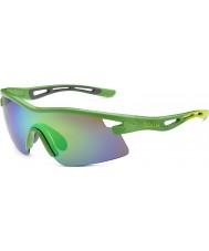 Bolle Edición limitada vórtice Orica gafas de sol esmeralda verde marrón
