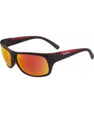 Bolle TNS gafas de sol de color rojo fuego negro mate Viper