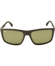RayBan Rb4228 58 de estilo de vida activo 601-9a negro gafas de sol polarizadas