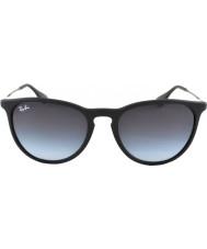 RayBan gafas de sol negro 622-8g Rb4171 de goma 54 erika