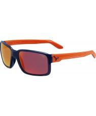 Cebe Tipo del azul de las gafas de sol de color naranja brillante