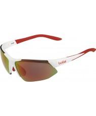 Bolle Breakaway gafas de sol TNS fuego anaranjado blanco brillante