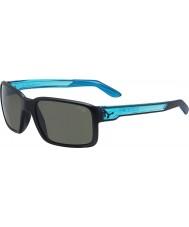 Cebe gafas de sol azules de cristal negro mate Amigo
