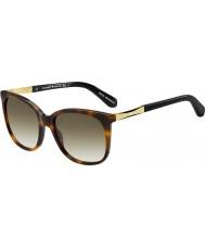 Kate Spade New York Damas Julieanna-s CRX cc gafas de sol de oro oscuro Habana