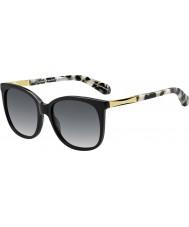 Kate Spade New York Señoras Julieanna-s anw f8 gafas de sol de oro negro