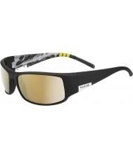 Bolle Rey brillante montaña negro polarizado AG-14 gafas de sol